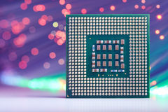 Processador poderoso do computador Fotografia de Stock
