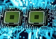 Processadores Imagens de Stock Royalty Free