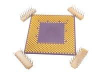 Processadores do processador central Fotografia de Stock