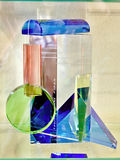 Processamento artístico do vidro Fotografia de Stock Royalty Free