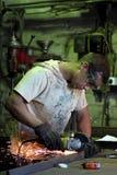 Processamento do metal Foto de Stock Royalty Free