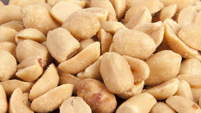 Processed pea nuts background. Or texture Stock Images