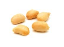 Processed peanuts royalty free stock photos
