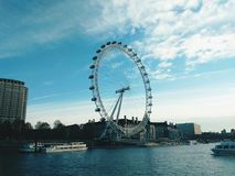 London Eye. Processed with VSCO with hb2 preset Royalty Free Stock Image