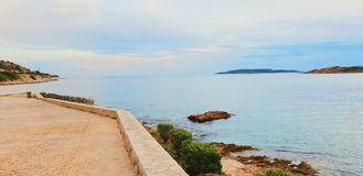 Vouliagmeni Greece Sea Beach royalty free stock photo