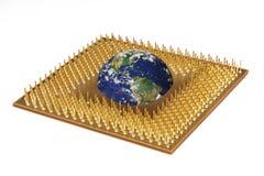 Processeur Image stock