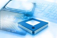 Processeur d'ordinateur Images stock