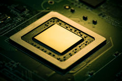 Processeur graphique Photos libres de droits
