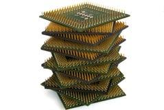 Processeurs Photographie stock