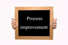 Processförbättring Arkivbild