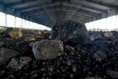 Processing in Coal Mine. Power and Energy Royalty Free Stock Photo