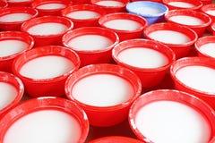 Processing Kudzu flour Royalty Free Stock Photography