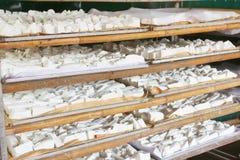 Processing Kudzu flour Stock Photos