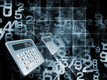 Processing Numbers Stock Image