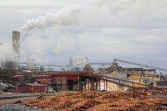 Processing plant tree Stock Photo