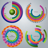 Processing Stages Wheel Icon Stock Image