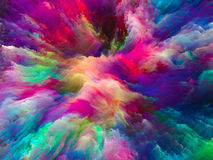 Processing Surreal Paint Royalty Free Stock Photos