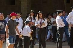 procession royalty-vrije stock fotografie