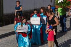 procession immagine stock