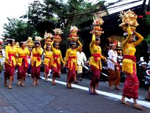 procession royalty-vrije stock afbeelding