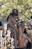 Procession of the brotherhood of the Cigar, Holy Week in Seville Stock Images