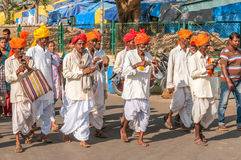 Procession at Chamundeshwari Temple Royalty Free Stock Images