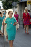 Procession in El Puerto de Santa María (Cadiz) 36 Royalty Free Stock Photo