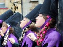 procession för blodbruges helgedom Royaltyfri Fotografi