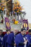 Procession, lima, peru Stock Image