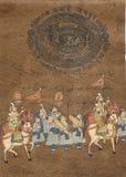 Procession of maharajah Royalty Free Stock Image