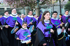 Procession and music Royalty Free Stock Image