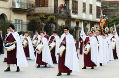 Procession and music Stock Photos