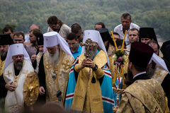 Procession for peace in Kyiv Stock Photo