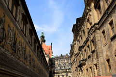Procession of Princes, Dresden Royalty Free Stock Photography