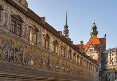 Procession of Princes in Dresden, Germany Stock Photography