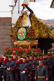 Procession of Saint Rose Stock Image