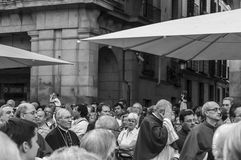 Procession of San Isidro Stock Images
