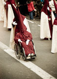 Procession on the streets Royalty Free Stock Photo
