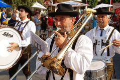 Procession at 'Villacher Kirchtag' Stock Photography