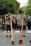 Procession at 'Villacher Kirchtag' Stock Images
