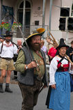 Procession at 'Villacher Kirchtag' Stock Photo