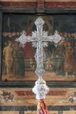 Processional cross royalty free stock images