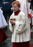 Processione 1 di Corpus Christi Immagine Stock