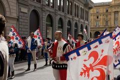 Processione degli elementi portanti Immagini Stock Libere da Diritti
