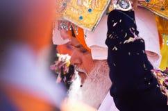 Processione del Sikh di Nagar Kirtan Fotografie Stock Libere da Diritti