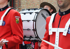 Processione dell'anima santa, Bruges, Belgio Immagine Stock
