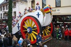 Processione di carnevale Fotografia Stock