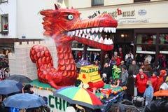 Processione di carnevale Immagini Stock Libere da Diritti