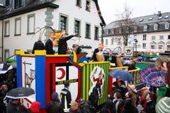 Processione di carnevale Fotografia Stock Libera da Diritti