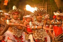 Processione di Kandy Esala Immagini Stock